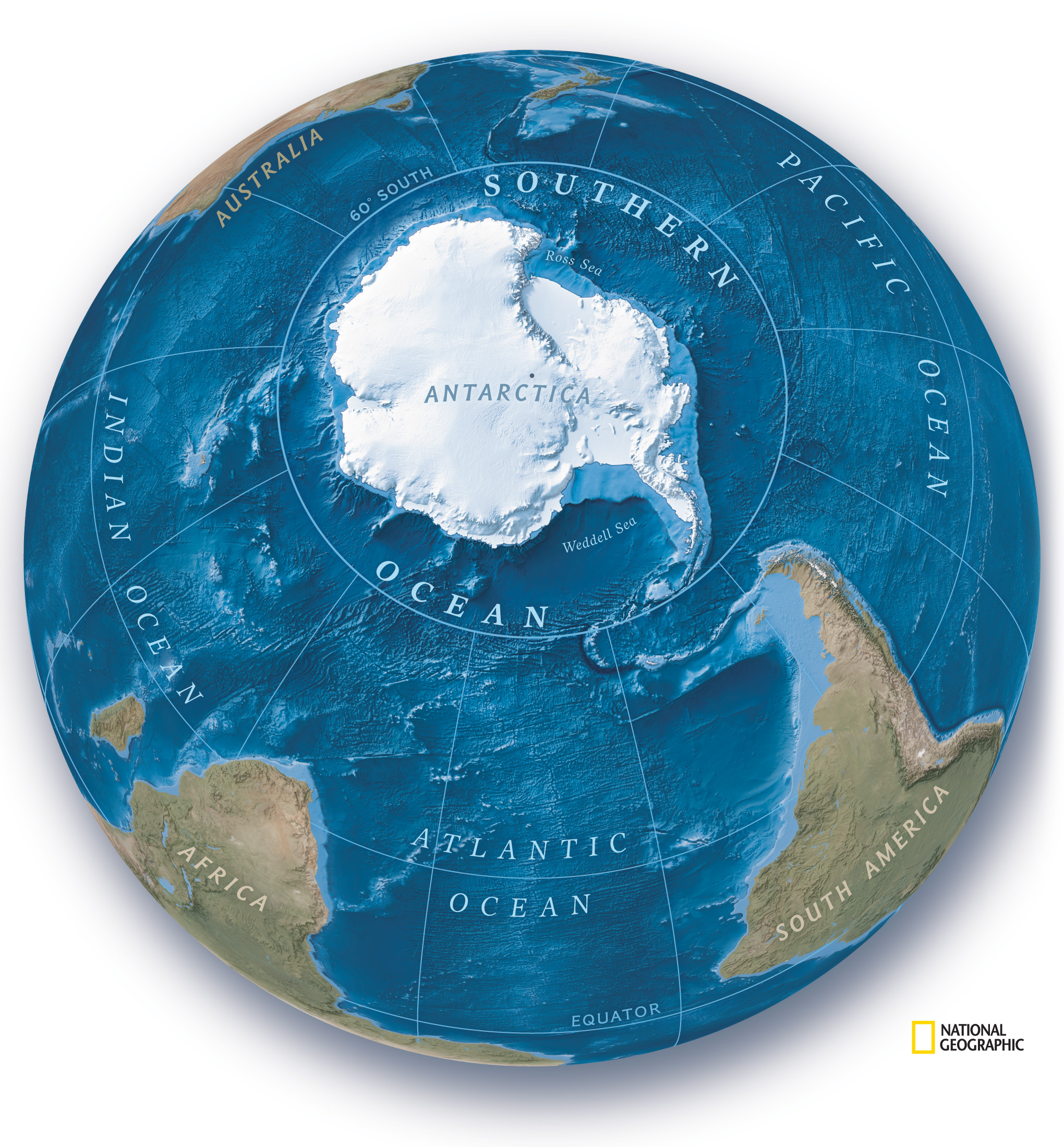 National Geographic  п'ятий океан — Південний